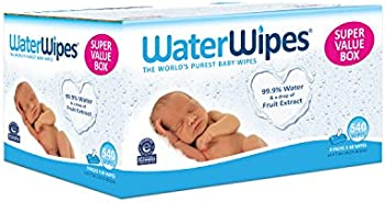 9-Pk. WaterWipes Sensitive Baby Wipes 60 Count (540 Count)