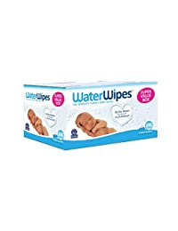 WaterWipes Sensitive Baby Wipes, 9 Packs of 60 Count (540 Count)