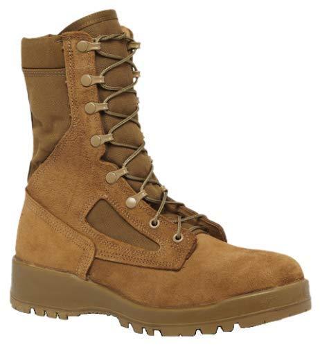 Belleville 551 Hot Weather Steel Toe Combat,Coyote Tan,10 D(M) US (Best Steel Toe Tactical Boots)