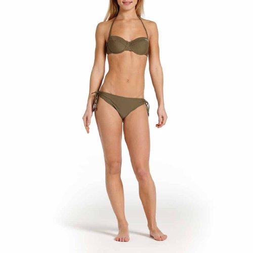 O'Neill PW Wire - Parte de arriba de bikini para mujer Verde (stone olive)