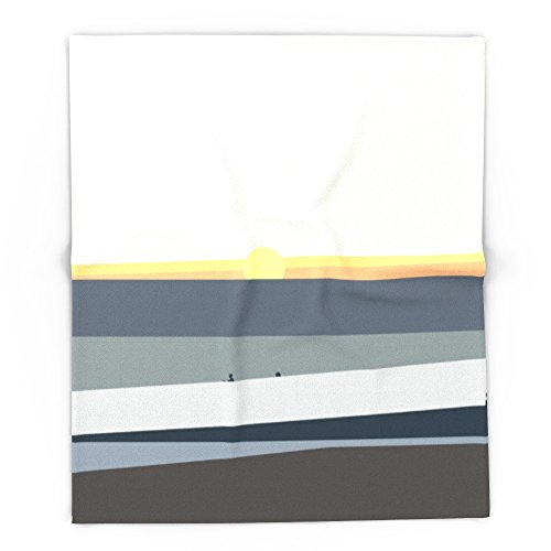 Society6 Makaha Hawaii Surf Sunset 88'' x 104'' Blanket by Society6