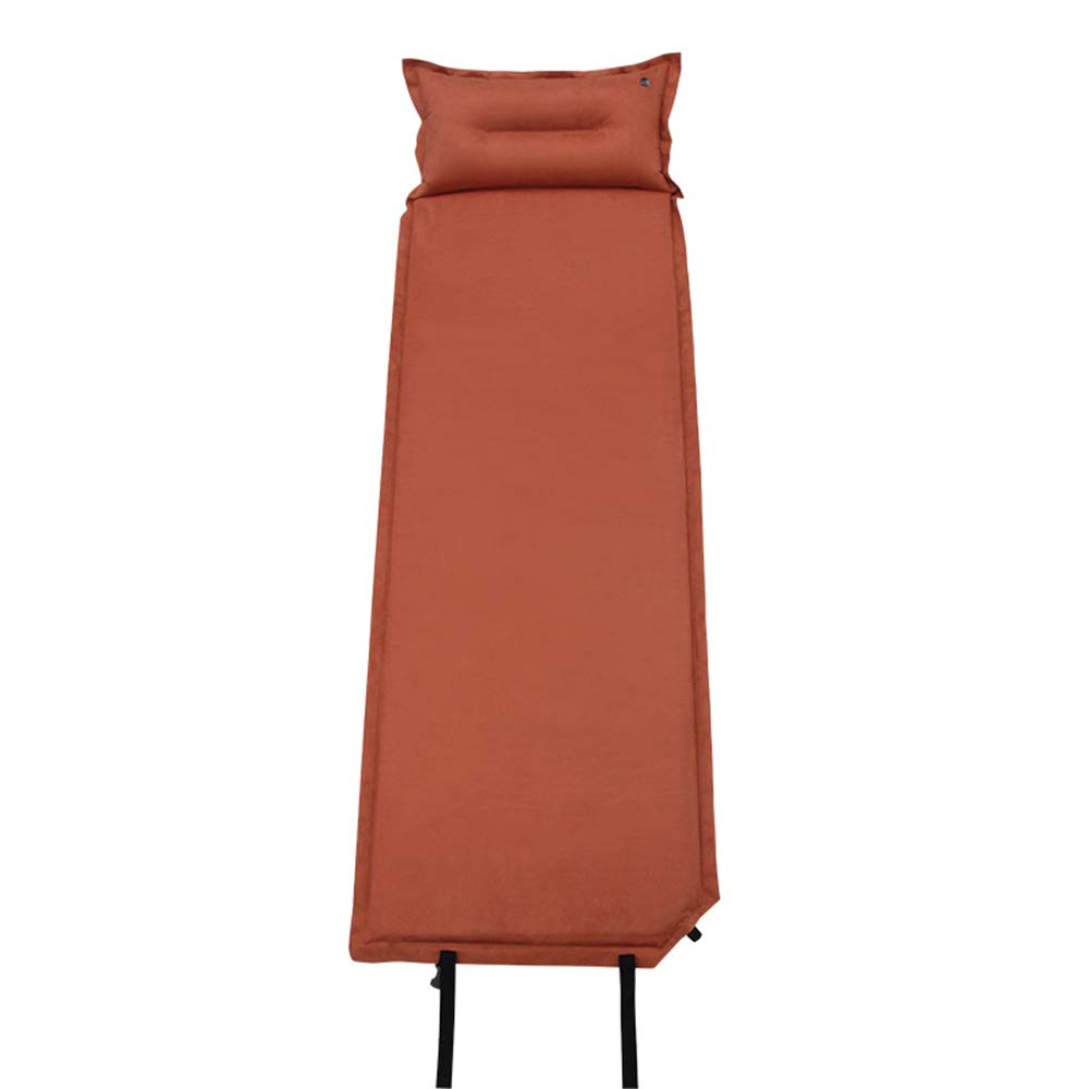 Unbekannt LEX Leder im Freien mit automatischem aufblasbarem Kissen Kissen kann genähte kampierende Schlafmatte Sein