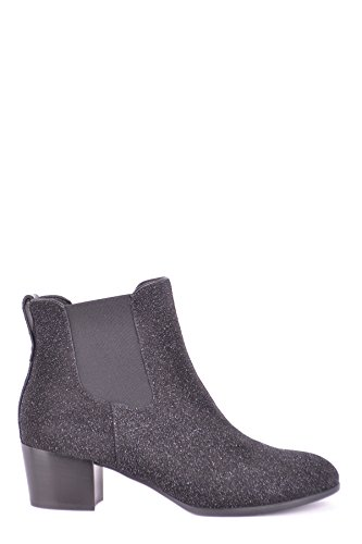 Hogan Women's MCBI148471O Black Glitter Ankle Boots 7z64lN