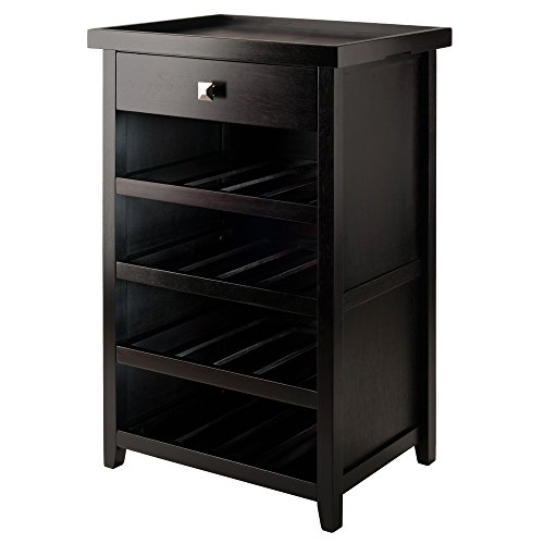 wine cabinet furniture espresso - 7