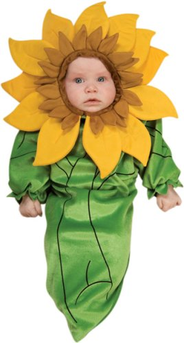 Baby Sunflower Flower Halloween Costume (NEWBORN 0-9 Months)
