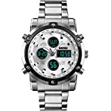 CIVO Mens Watches Black Gents Chronograph Watch...