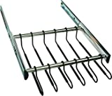 18 Hanger Pants Rack Pull-out, Synergy Collection, 24'', With Full Extension Slide Polished Chrome