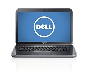 "Dell Inspiron i15R-1843sLV 15"" Laptop (2.50GHz Intel Core i5 3210M, 8GB Memory DDR3, 1TB HDD, DVD±R/RW, Intel HD Graphics 4000, Windows 8) Moon Silver [Discontinued By Manufacturer]"