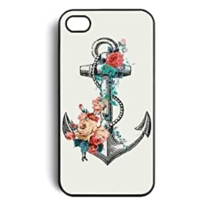 Anchor Hard Snap on Case Cover for Apple Iphone 4 Iphone 4s Cellphone Case by icecream design