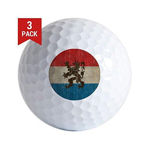 Old Vintage Golf Balls - CafePress - Vintage Netherlands Flag - Golf Balls (3-Pack), Unique Printed Golf Balls