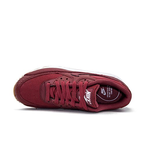 Nike 896497-601 Donne Wmns Air Max 90 Prm Cedro Gomma Giallo Bianco