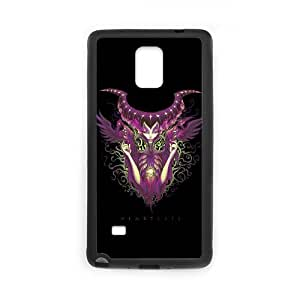 Samsung Galaxy Note 4 Cell Phone Case Black Heartless HON Cell Phone Battery Case