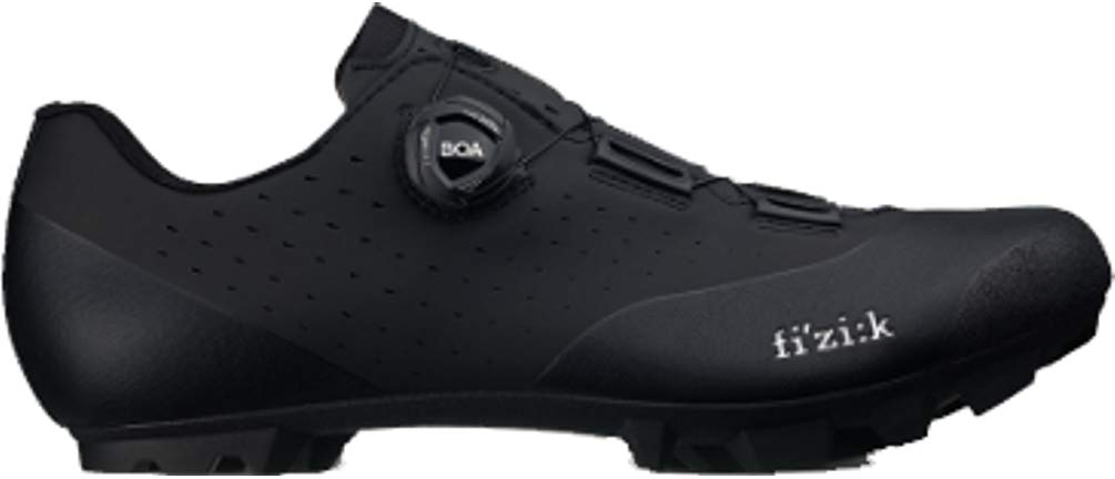 Fizik Vento X3 Overcurve Cycling Shoe Black/Black, 44.0 by Fizik