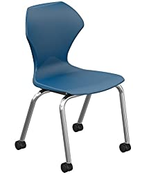 Marco Group 38102-18CR-ANA Apex Series Caster Chair with Chrome Frame, 18\