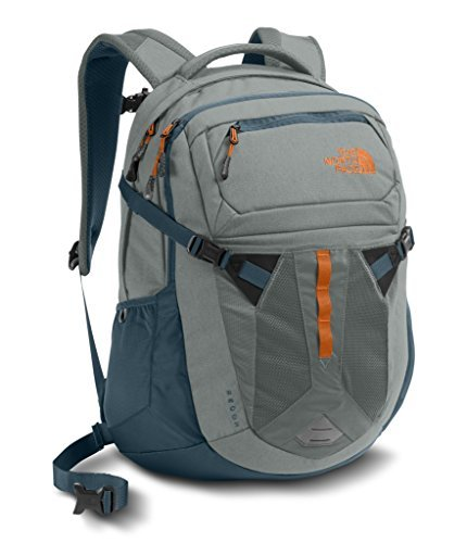 The North Face Recon Backpack - Sedona Sage Grey/Conquer Blue - One Size (Past Season) [並行輸入品] B07F4DRDMQ