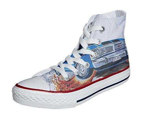 Converse All Star Zapatos Personalizados Unisex (Producto Artesano) con Chevrolet