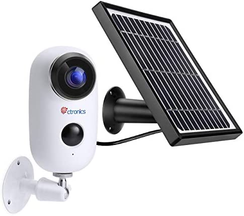 Wireless Outdoor Security Camera WiFi Solar Powered