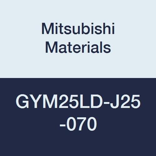 0.984 Grooving Depth M25 Size Mitsubishi Materials GYM25LD-J25-070 Face Grooving Holder Left Hand 2.756 Grooving Diameter 0.236//0.248//0.250 Seat Modular Blade