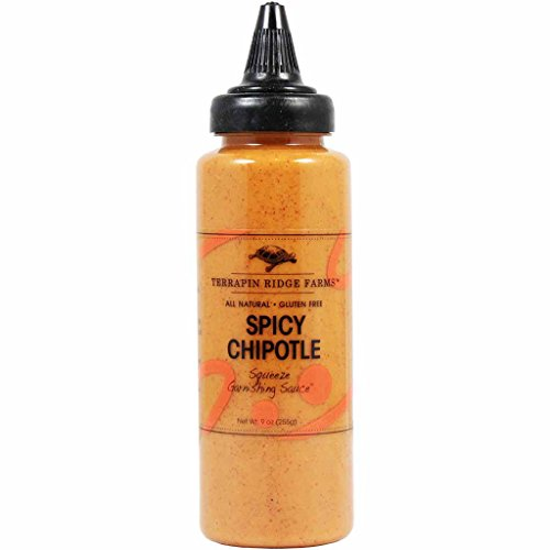 Terrapin Ridge Farms Spicy Chipotle Squeeze Garnishing Sauce (3 Pack)