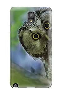ZippyDoritEduard Fashion Protective Boreal Owl Case Cover For Galaxy Note 3