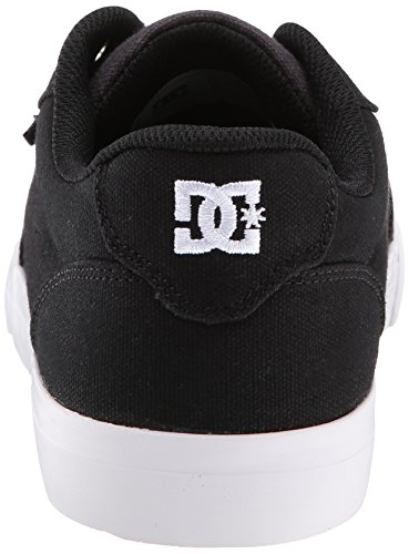 DC hombres Anvil TX Skate zapatos,negro/Dark Shadow,7.5 M US
