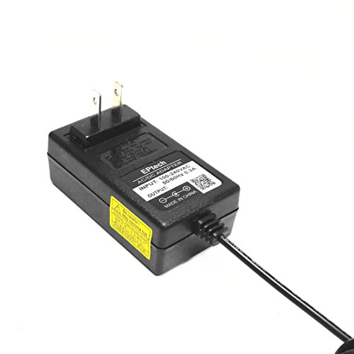 EPtech (6.5 Ft Extra Long) AC / DC Adapter For Yamaha PA3 PA3B PA5 PA5D PA6 PA150 PA130 PA5C; DGX200 DGX202 DGX640; PSR170 PSR175 PSR225GM PSR-260 PSR260 PSR262 PSR273 PSR-275 PSR275 PSR280 PSR290 Keyboard Charger Power Supply