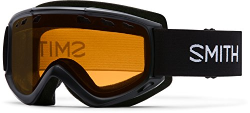 Smith Optics Cascade Adult Airflow Series Snocross Snowmobile Goggles Eyewear - Black/Gold Lite / Medium - Cascade Series Single