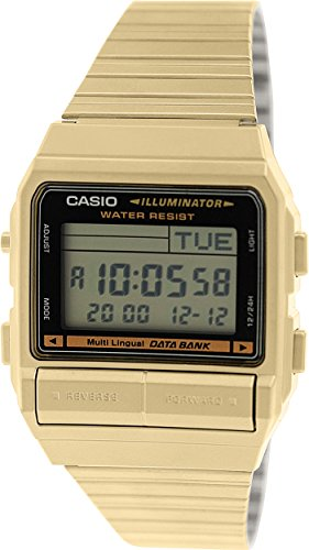 Casio DB380G 1 Stainles Steel Quartz Digital