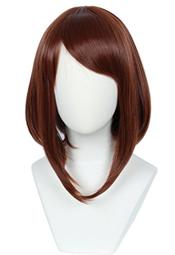 Linfairy Womens Red Brown Wig Halloween Costume Cosplay Wig ()