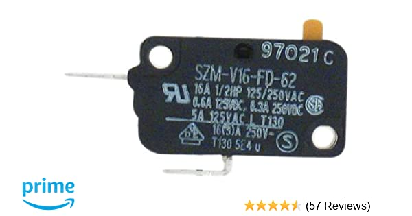 GE WB24X830 Monitor Switch for Microwave on