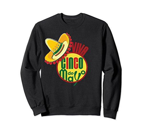 Cinco De Viva Mayo (Unisex Viva Cinco De Mayo T-Shirt Popular Cinco De Mayo Gift Idea Small Black)