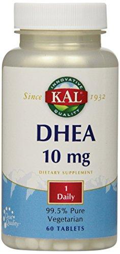 KAL DHEA-10 Tablets, 10mg, 60 ()