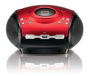 Scott SDM 1023 - Radio CD portátil (LCD, reproductor de MP3 y WMA, USB 2.0) [producto importado]