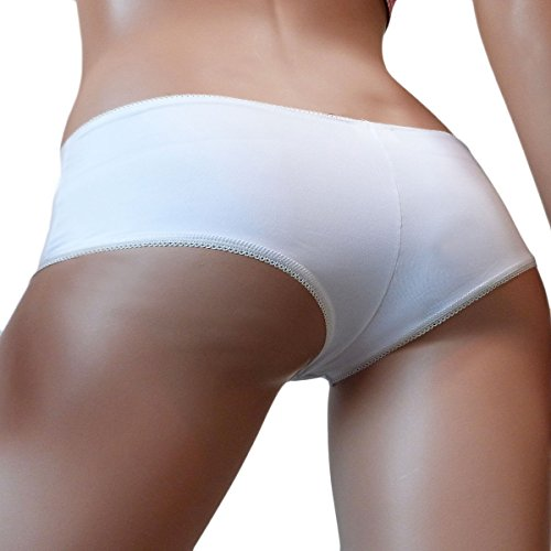 Lingerie 24-7 - Culottes - para mujer blanco