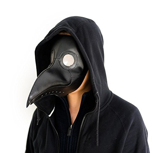 CYNDIE Plague Bird Doctor Mask for Halloween Cospaly Party Fancy Dress -