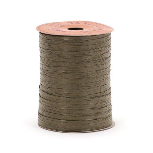 Berwick Wraphia II Matte Paper Craft Ribbon, 100-Yard Spool, Chocolate - Brown Raffia