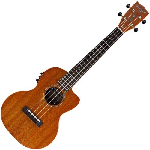 Gretsch G9121 Tenor A.C.E Acoustic-Electric Ukulele with Gig Bag - Honey Mahogany Stain by Gretsch