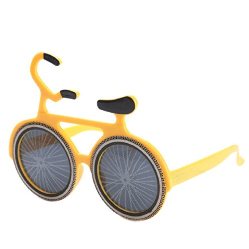 Ponce Fashion Novelty Bicycle Sunglasses Party Props Cosplay Costume - Costume Bike