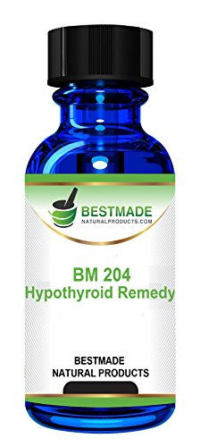 Thyroid Support a Natural Treatment for Hypothyroidism Improve Thyroid Gland Function, Increase Energy and Minimize Weight Gain by BestMade BM204