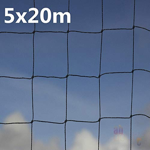 4 5 x 2-20m Heavy Duty Anti Bird Net Nylon Garden Anti Bird Netting Vegetables Pest Plant Fruit Crop Tree Garden Mesh Predect   5x20