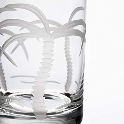 Rolf Glass Palm Tree Cooler Glass, Clear
