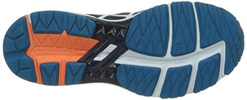 Asics Gt-1000 5 M - Zapatillas de Entrenamiento Hombre Azul (Indigo Blue/snow/hot Orange)