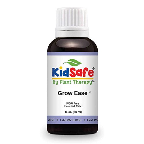 Plant Therapy KidSafe Grow Ease Synergy Essential Oil 10 mL (1/3 oz) 100% Pure, Undiluted, Therapeutic Grade Plant Therapy Essential Oils