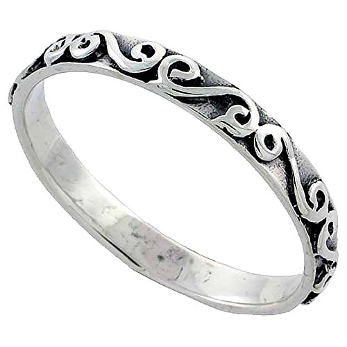 Sterling Silver Stacking Ring sizes