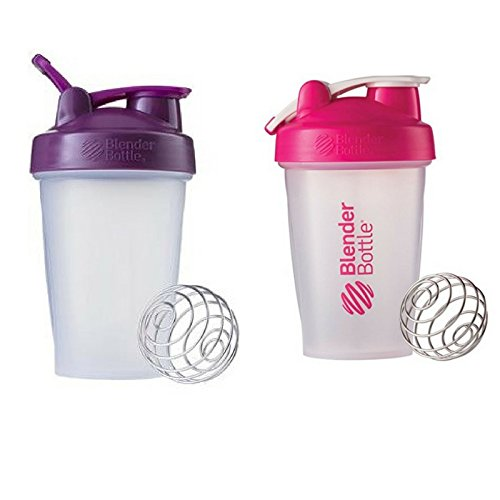 Blender Bottle 2 Pack (Pink|Plum)