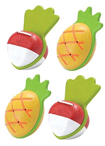 Becker's School Supplies Plan Toys Maraca & Clapper Set, (Set of 4)
