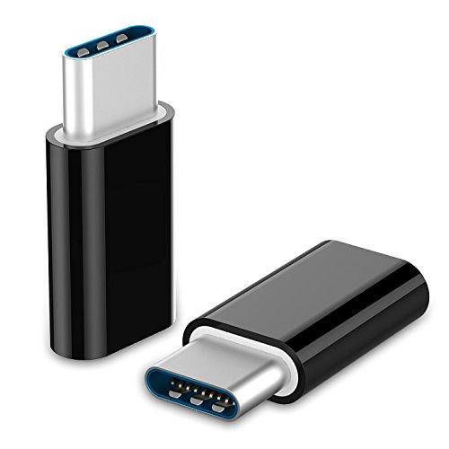 (USB-C to Micro USB, SUMOON 2-Pack USB Type-C to Micro USB Adapters for New MacBook Pro, ChromeBook Pixel, Nexus 5X, Nexus 6P, Nokia N1, OnePlus 2 and More)