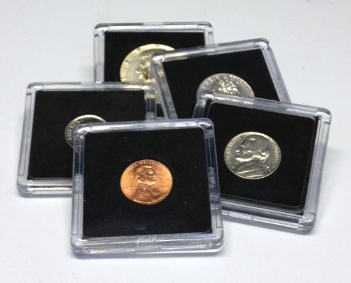 ted Coin Snap Holders, 5 Different Sizes ()