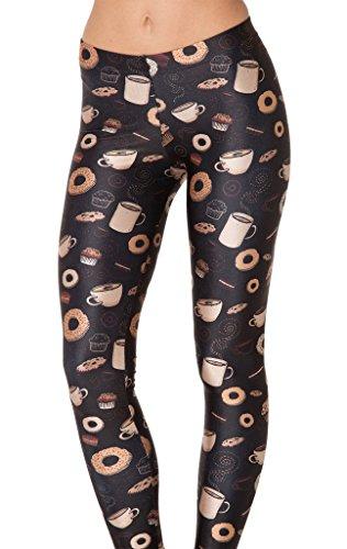 Jescakoo Womens Digital Length Leggings product image