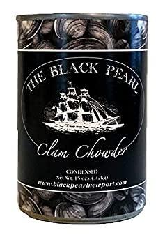 The Black Pearl New England Condensed Canned Clam Chowder